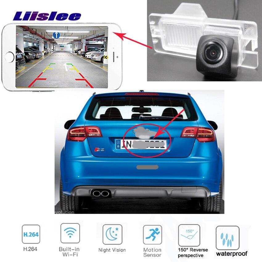 LiisLee caméra de recul sans fil pour Renault Master pour Opel Movano 2010 ~ 2015 voiture hd CCD caméra de plaque d'immatriculation de Vision nocturne