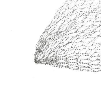 Awesome No1 Fishing Net Foldable Fishing Netting Lure Bait Fishing Accessories cb5feb1b7314637725a2e7: 40CM|50cm|60cm