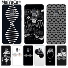MaiYaCa Alternatieve Rock Band Arctic Aap Telefoon Case Ultra thin voor Samsung S9 S9 plus S5 S6 S6edge S6plus S7 s7edge S8 S8plus(China)