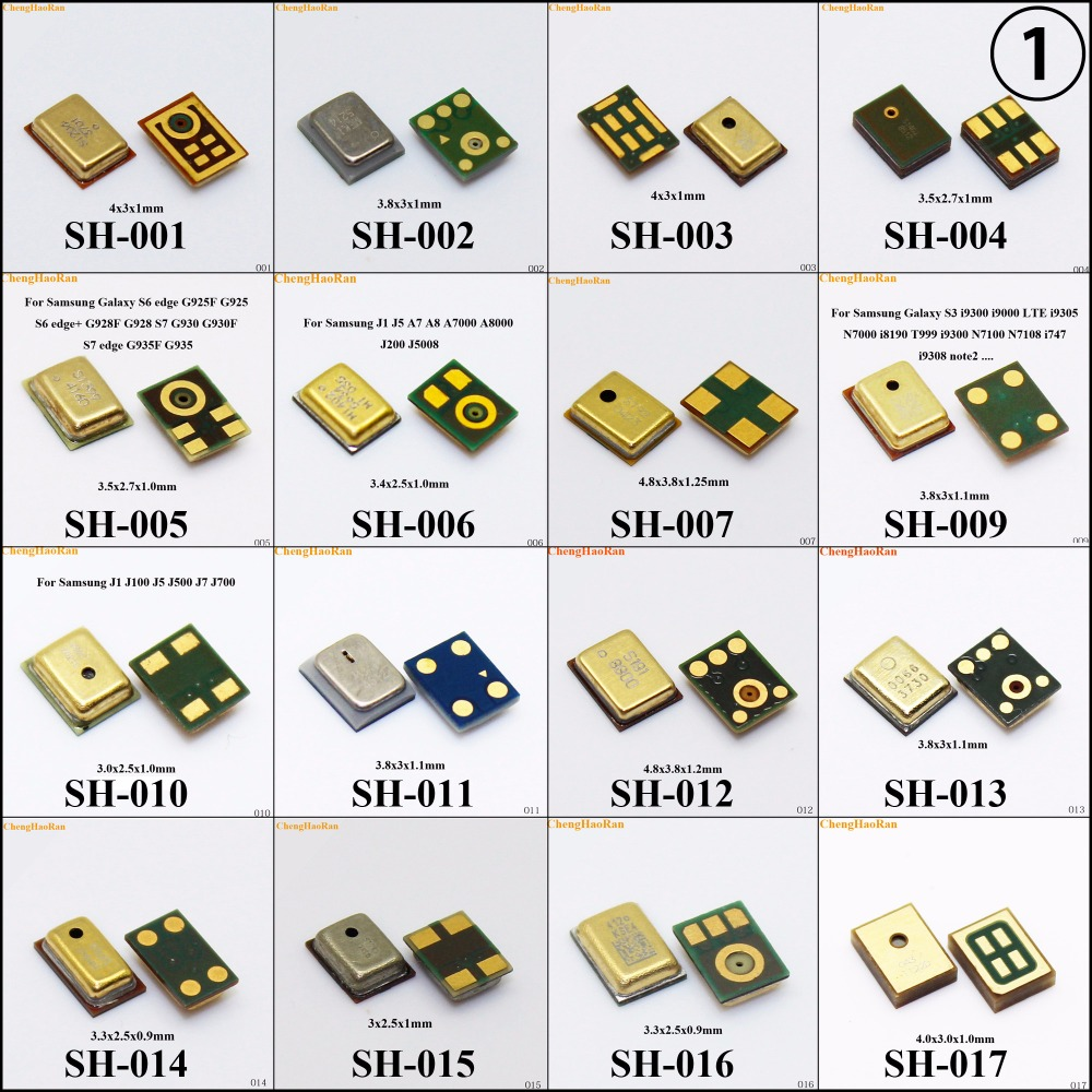 (1) 38 Models For Samsung Repair Board Microphone Mic Receiver Parts For MOTO Nokia HTC For Huawei Xiaomi Redmi Vivo OPPO ZTE ..