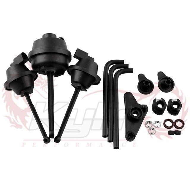 Un Set di PA66 Nylon 66 Collettore di Aspirazione Aria Flap Runner Kit di Riparazione per Mercedes Benz C350 E350 ML350 R350 oe 2721402401 EA080