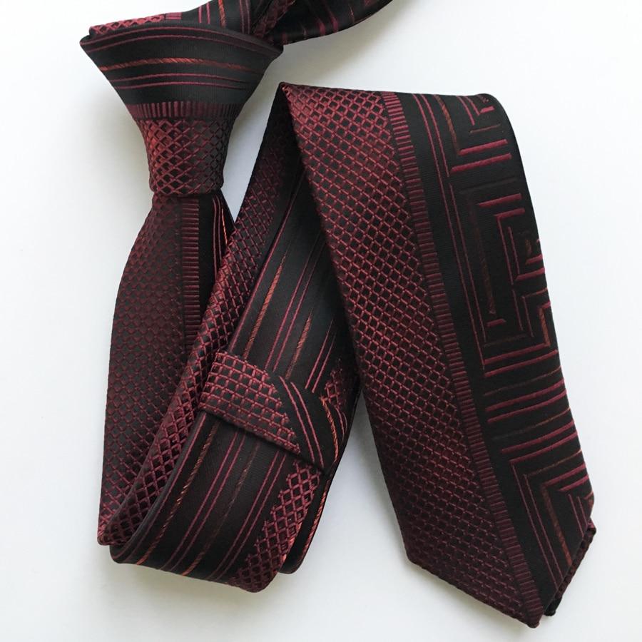 Corbata flaca del panel de la personalidad del diseñador Corbata - Accesorios para la ropa