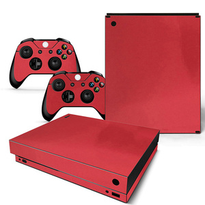 Image 5 - Vinyl Skin For Microsoft XBOX ONE X Console  and Controllers Sticker Cover Skins For X box One X Decal