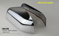 Chrome Side Door Rearview Mirror Cover Trim 2 Pcs Set For Land Rover Freelander 2 LR2
