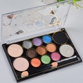2016 New Koren 3D and 13 color eye shadow silty fine four optional  Professional makeup Eye shandow free shipping S552
