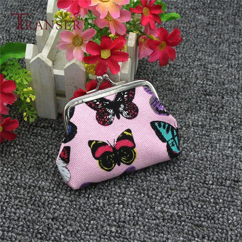 Womens Butterfly Small Wallet Card Holder Coin Purse Clutch Bag Handbag Best Gift drop ship May16 mini coin purse wallet clutch handbag bag womens dot pattern small wallet money pouch card holder gift girls