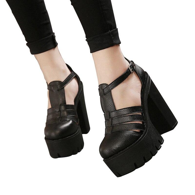 Gdgydh hete verkopen 2019 nieuwe zomer mode hoge platform sandalen - Damesschoenen - Foto 5