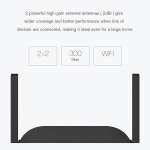 Image 4 - Xiao mi mi jia wifi 리피터 프로 300 m mi 증폭기 네트워크 확장기 라우터 power extender roteador 2 라우터 wi fi 용 안테나