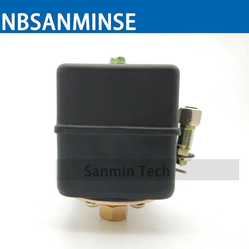 SMF17 1/4 3/8 NPT Thread Air Compressor Pressure Switch High Pressure Switches High Quality NBSANMINSE rinnai smf 42 квт купить