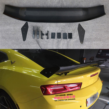 Car Accessories High Quality Carbon Fiber Rear Trunk Lip Spoiler Wing Decoration Fit For Chevrolet Camaro 2016 2017 2018 2010 2013 chevrolet camaro duraflex gm x wing trunk lid spoiler 3 piece