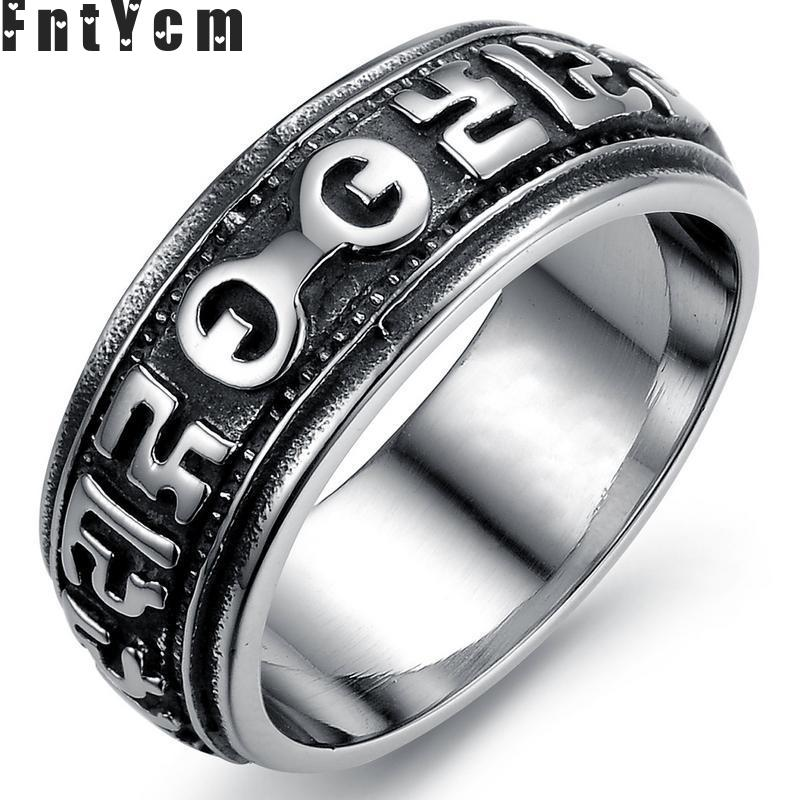 Six True Words Slavic signet turkish supernatural ring men Pharaoh good luck thomas sabor jewelry the elder scrolls