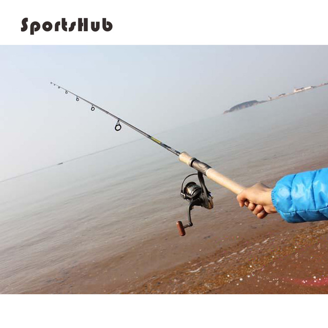 SPORTSHUB 200g 1.8m 5.9ft Ultralight Bait Casting Fishing Rod Carbon Spinning Fishing Rod River Lake Lure Rods FT0021