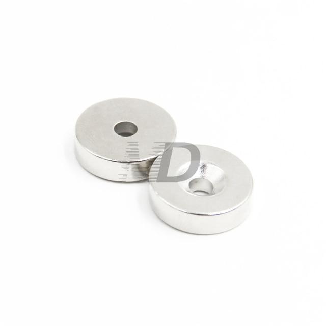 Aimants ronds très forts en néodyme   20 pièces, 18mm x 5mm, trous 5mm, aimant néodyme N50, livraison gratuite