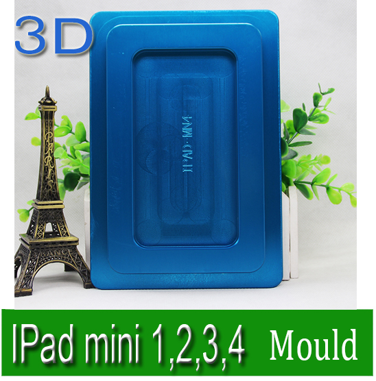 Solid Aluminium Alloy 3D Sublimation Phone case Mould for I Pad mini,heat transfer mold  цены