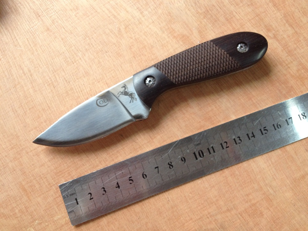 Hardness 56HRC 5CR13MOV blade Full tang handle tools survival font b tactical b font utility font