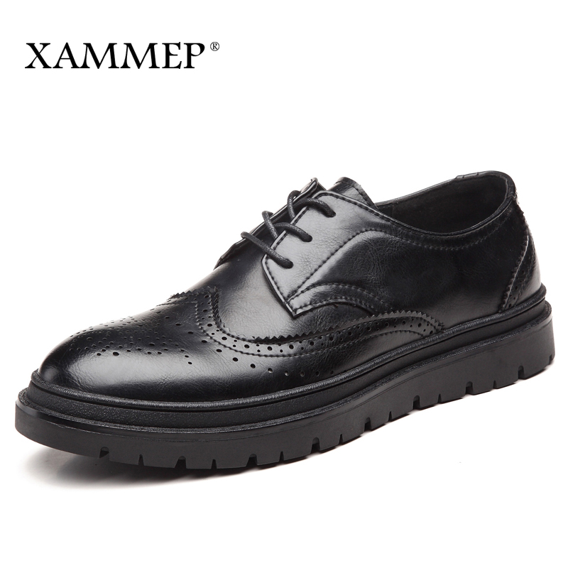 цены на Men Casual Shoes Brand Men Shoes Men Sneakers Split Leather Winter Men Flats Lace up Plush Hight Quality Plus Big Size Xammep