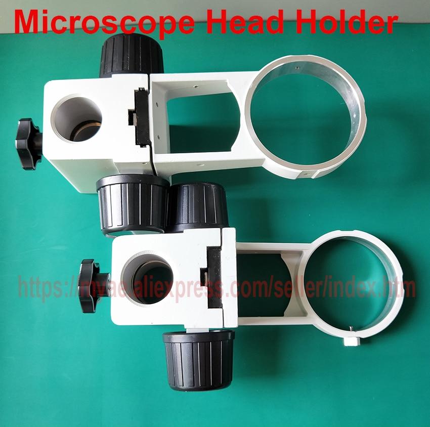 Efix Stereo Microscope Head Holder Focus Adjustment Arm Microscope Ring Arbor Stand Bracket Diameter 76 Mm Accessories