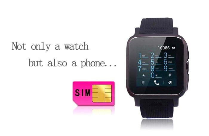android 4 2 font b smart b font font b watch b font phone 5mp camera