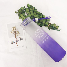 EXO Gradient Frosted Glass Cup