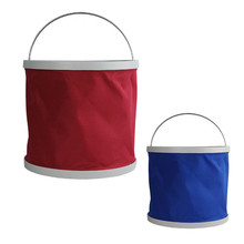 New Candy Colors Hot Sale Fashion Folding Bucket Fishing Automotive Car Washbasin Bucket for 9 L/10L/13 L TRQ136