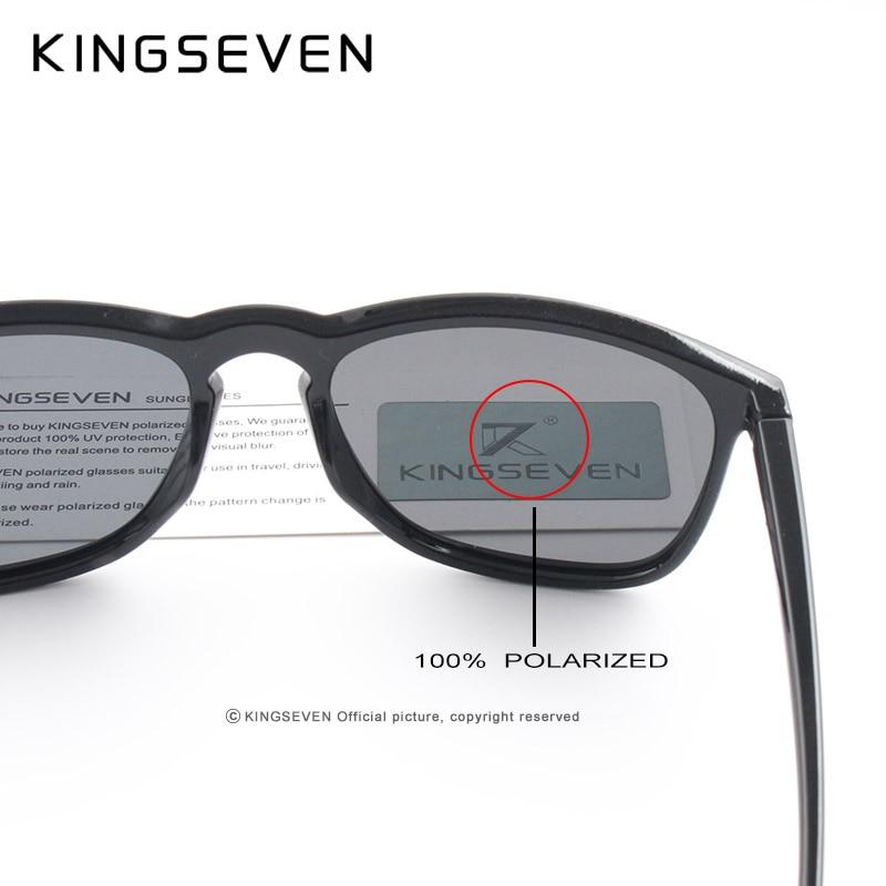 490210c91bf4 KINGSEVEN 2017 Polarized Sunglasses Men Women Fishing Driving Sun glasses  Brand Designer Frame Gafas De Sol N7916-in Sunglasses from Men s Clothing  ...