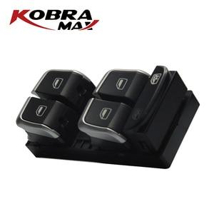 Image 2 - KobraMax Electric Power Finestra di Controllo Interruttore Pulsante 8U0959851/8UD959851A Adatto Per Audi A4 2007 2014 Accessori Auto