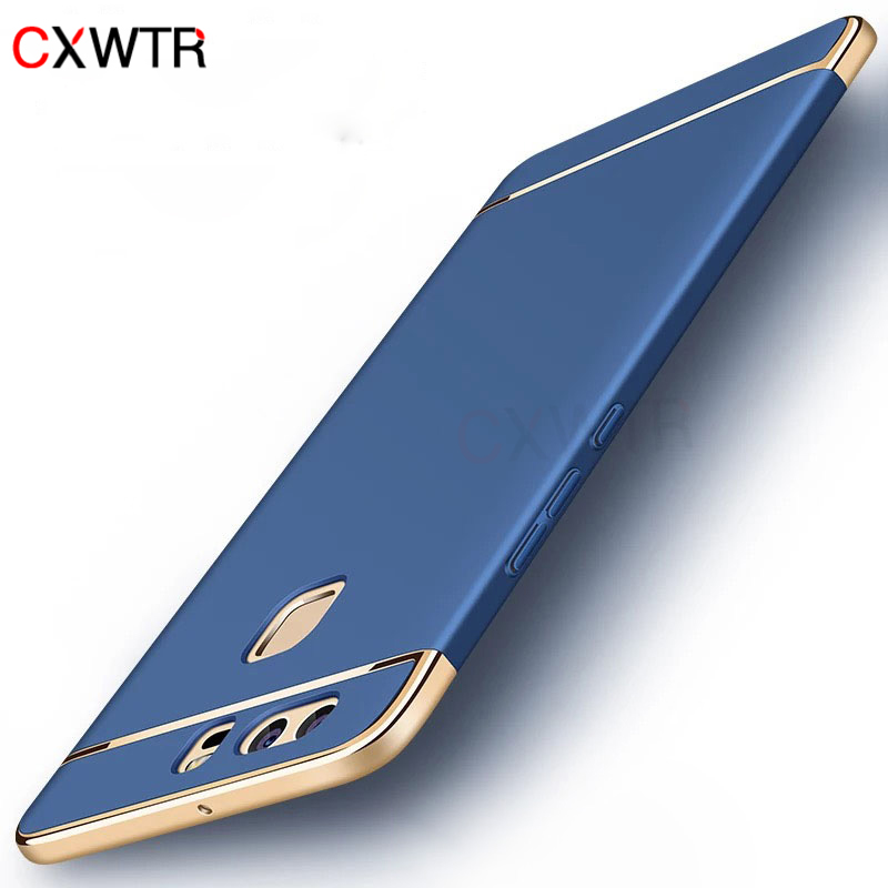 <font><b>Case</b></font> for Huawei P10 P9 Lite Plus <font><b>Phone</b></font> <font><b>Case</b></font> P20 <font><b>P30</b></font> Pro Luxury 3 In 1 Slim Hard Cover for Huwei Honor 8 9 10 Lite image