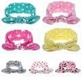 Hot! crianças meninas headbands Bebê bonito coelho orelha headwraps Meninas moda acessórios de cabelo para Crianças faixas de cabelo bowknot 1 pc HB456