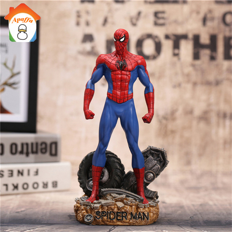 Spiderman Action Figures Toy 30cm Super Hero Brinquedos Anime Spider Man Collectible Model Toys 2017 anime transformation 4 cars robots toys pvc action figures toys brinquedos model boy toy christmas gifts juguetes cm