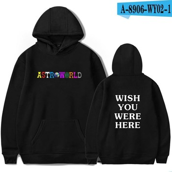 Travis Scotts ASTROWORLD 2018 Print Hooded Hoodies Men/Women Clothes Hoodie Sweatshirt Male Harajuku Plus Size 4XL Hip Hop Men Sweatshirts & Hoodies