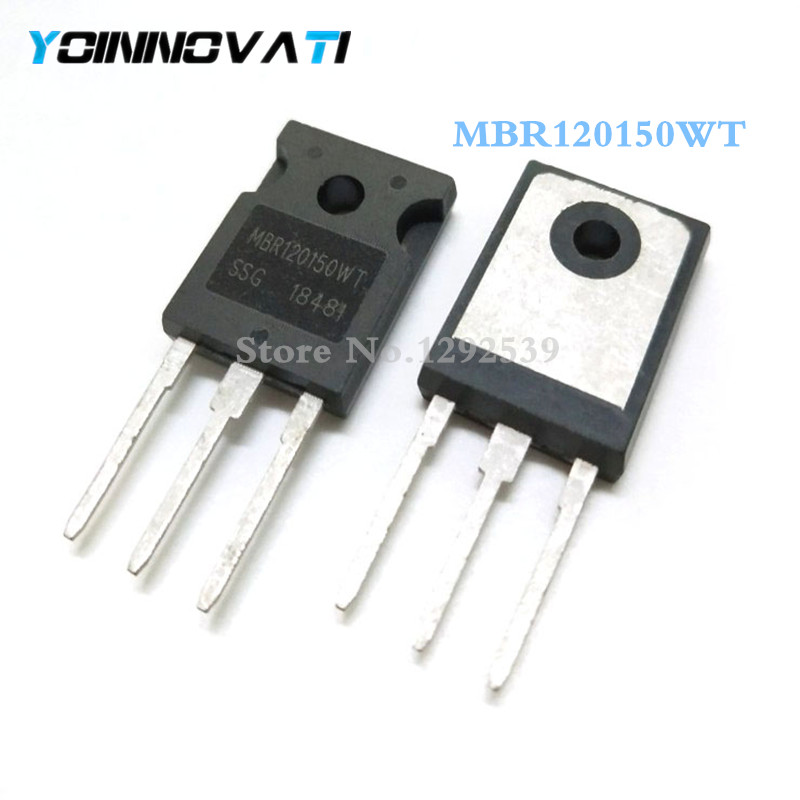 Free shipping 100pcs lot MBR120150WT MBR120150 150V TO 247 IC best quality