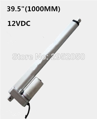 Free12V 1000mm/39.5inch stroke 900N /198LBS micro linear actuator electric linear actuator TV lift high speed linear actuatorFree12V 1000mm/39.5inch stroke 900N /198LBS micro linear actuator electric linear actuator TV lift high speed linear actuator