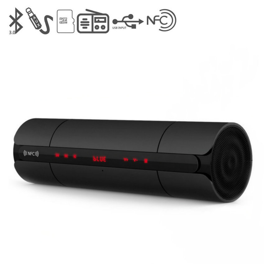 Newest Wireless Bluetooth Speaker FM KR8800 6-30W MP3 Music Mini Outdoor Portable NFC HIFI Stereo Loudspeaker Super Bass Hand