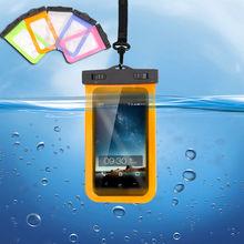 Водонепроницаемый подводный чехол для iPhone, чехол для мобильного телефона, сенсорный экран, смартфон, красочные сумки для отслеживания рек