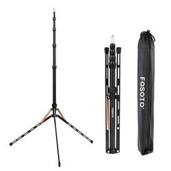 Fusitu FT-190B 2.2m Led Light Stand Portable Tripod Head Softbox For Photo Studio Photographic Light Flash Umbrellas Reflector