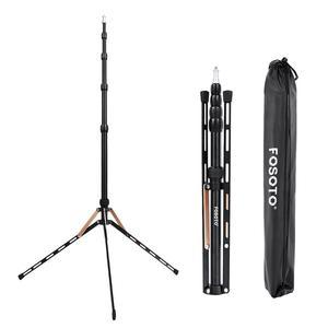 Image 1 - Fusitu FT 190B 2.2m Led ışık standı taşınabilir Tripod kafası Softbox fotoğraf stüdyosu fotoğrafik işık flaş şemsiye reflektör