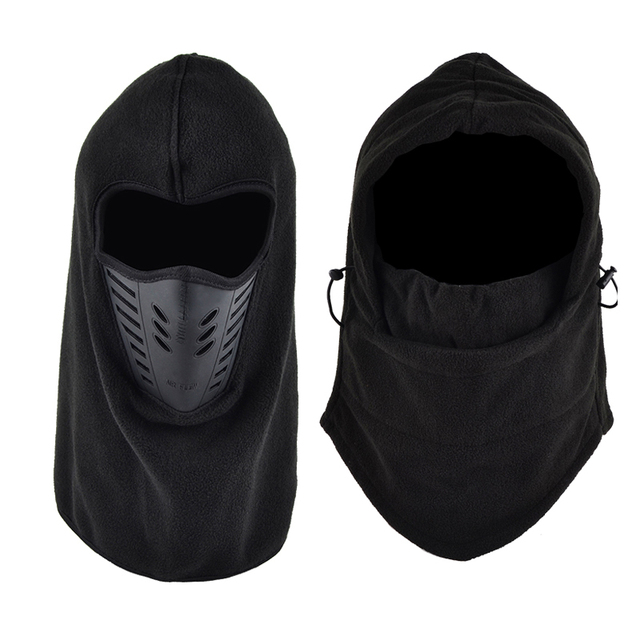 Protective mask Thermal Fleece Neck Warm Balaclava Ski Full Face Mask Cap Protection For Adult Cyclelist Outdoors Camping 1