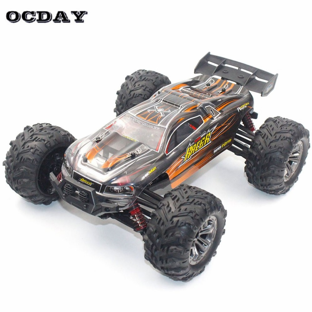 Professional 4WD RC Car 1:16 High Speed Motors Drive Buggy Remote Control Radio Controlled Machine Off-Road Cars Toys for kid ti wltoys 12402 rc cars 1 12 4wd remote control drift off road rar high speed bigfoot car short truck radio control racing cars