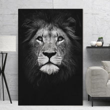 Home decor Wall art animal canvas painting Wall Pictures print for Living Room Art Decoration Pictures No Frame morden print(China)