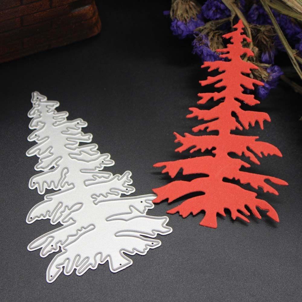 2017 New Christmas Tree Cutting Dies Stencils Decorative