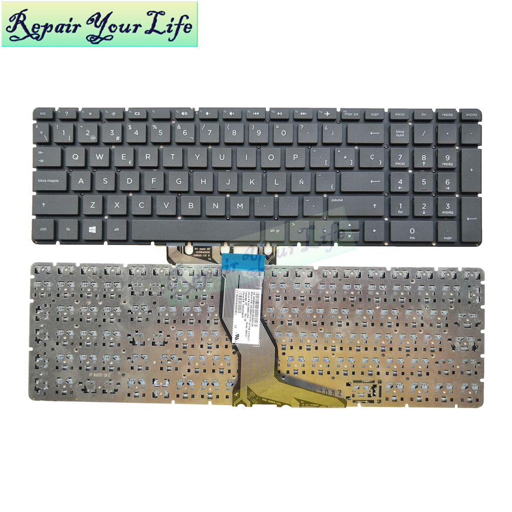 Repair You Life laptop Spanish <font><b>keyboard</b></font> for <font><b>HP</b></font> <font><b>250</b></font> <font><b>G6</b></font> <font><b>keyboard</b></font> 15-BP 15-BP015 15-BS 15-BW 919794-071 for ENVY X360 15M SP image