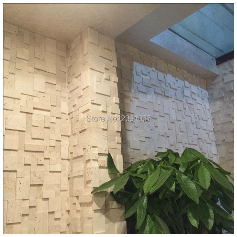Hohe Qualität Marmor Stein mosaik fliesen anti staub Natürliche Marmor Küche Back Wand Fliesen Dekoration Material 1 BOX (5 blätter) - 3