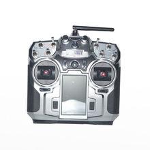 """F16276/F16277 FlySky FS-i10 T6 2.4g 3.55 """"de Pantalla LED Digital Proporcional 10 Canales Transmisor y Receptor de Sistema"""
