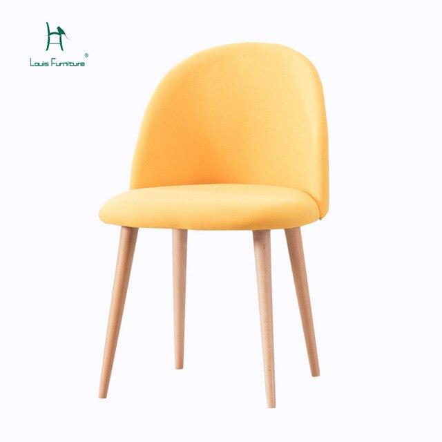 Us 769 Mody Louis Krzesła Kawiarnia Nordic Kreatywny Sofa Nowoczesne Proste Tkaniny Rozrywka W Mody Louis Krzesła Kawiarnia Nordic Kreatywny Sofa