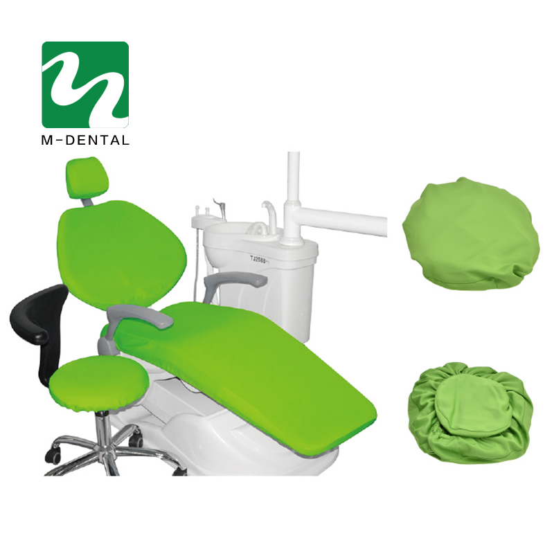 4 Pcs/set High Elastic Dental Unit Covers Dental Chair Seat Cover Protective Case Set Seat Protector Kit