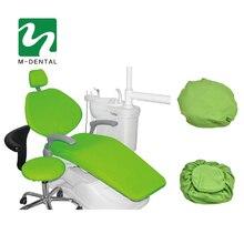 4 pz/set di Alta Elastico Dentale Unità Coperture Dental Chair Seat Cover Custodia protettiva Set Sedile Kit di Protezione