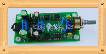 Free Shipping!!!  5pcs Headphone Amplifier Kits / audio amplifier / preamplifier edition / pre-amp P7SE