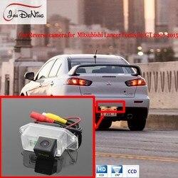 JanDeNing Luz Da Placa de Licença OEM CCD Car Rear View Estacionamento/Backup Câmera Reversa Para Mitsubishi Lancer Fortis/io/GT 2007-2015