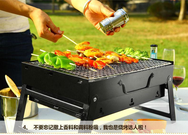 Rauchfreier Holzkohlegrill Netto : Brennen ofen freien holzkohlegrill grill rahmen außen portable 3 5