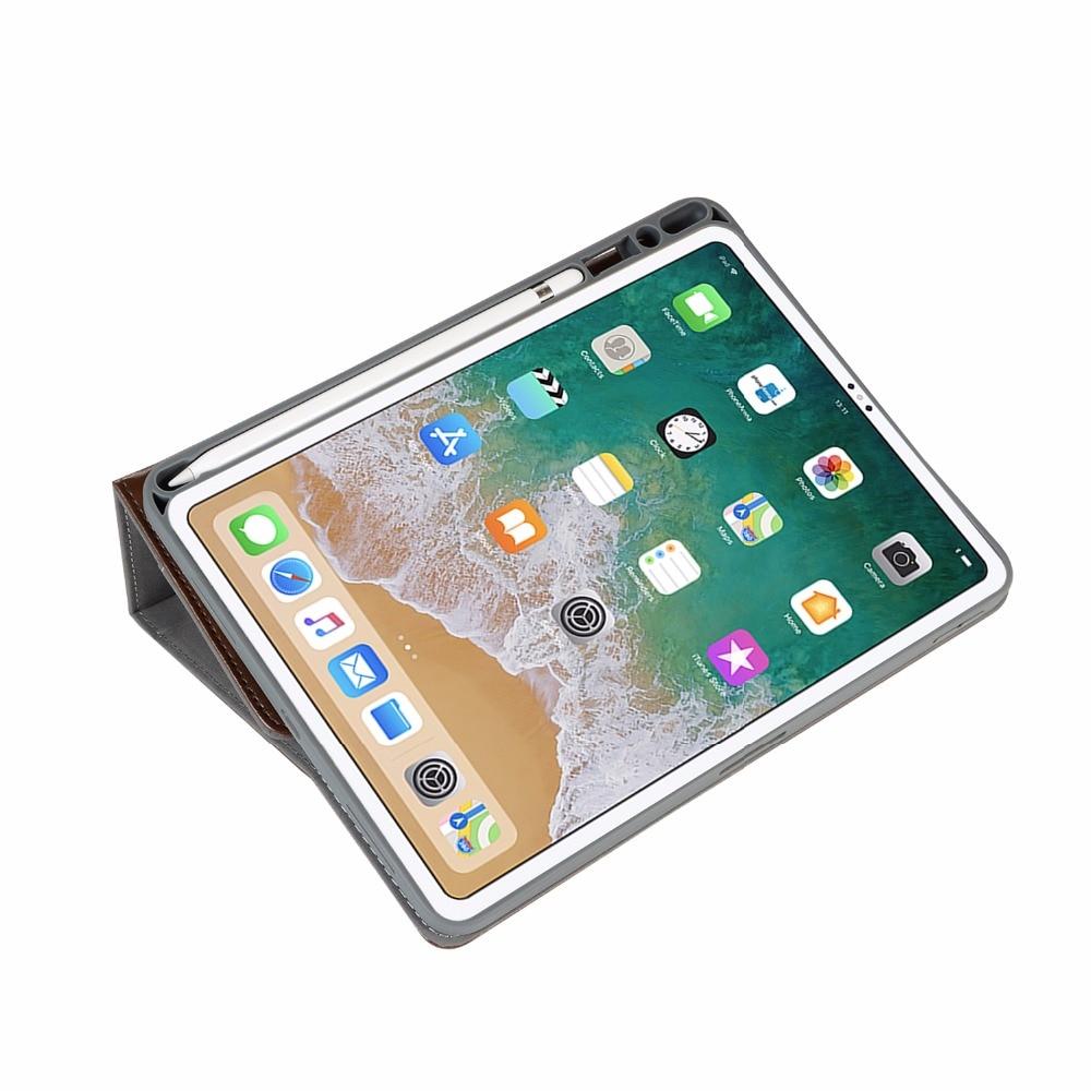 36f2e925be2 Para ipad pro 12,9 pulgadas 2017 con Apple lápiz titular de cuero de la